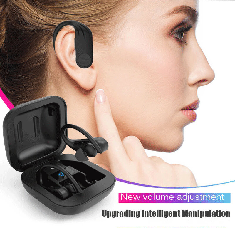 Sports Led Bluetooth Earphone Wireless Headphones Tws Stereo Earbuds Handsfree Phone Gaming Headset For Iphone Xiaomi Android Bestdealplus