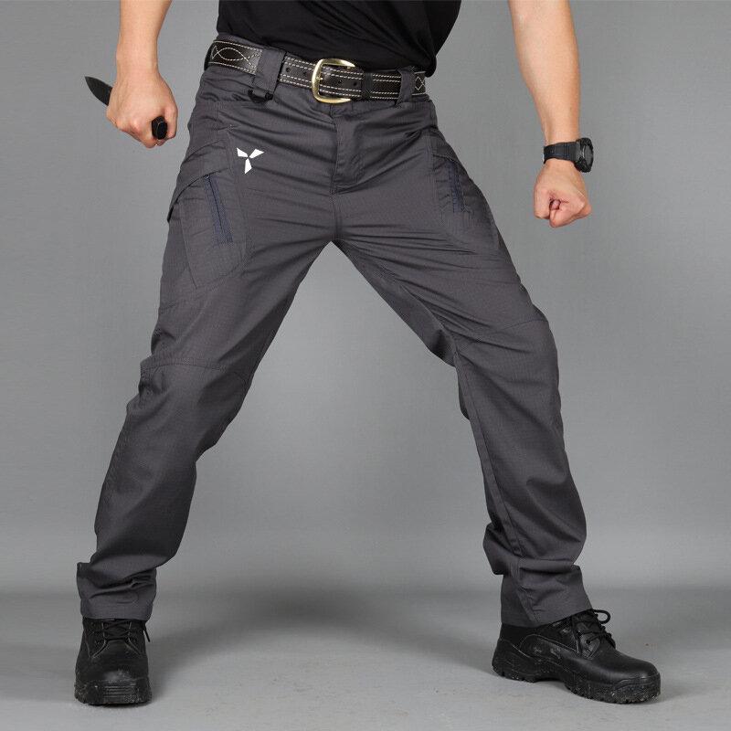 Pantalones Tacticos Elasticos De Varios Bolsillos Para Hombre Pantalon Tactico Militar Urbano Para Ir Al Trabajo 5xl Pantalones