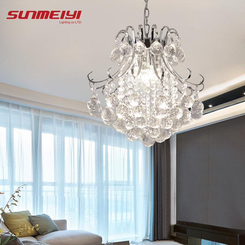 Candelabro de cristal de lujo para sala de estar, lámpara de luces interiores, lustres de cristal para candelabros, envío gratis, 2020