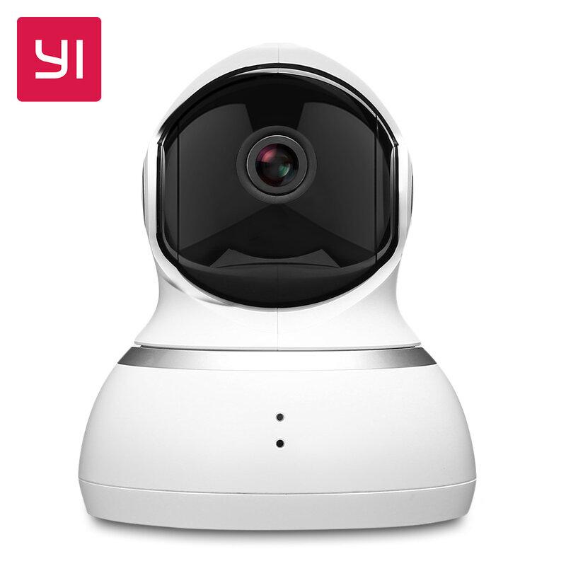 Telecamera Dome YI, sistema di sorveglianza di sicurezza IP Wireless Pan/Tilt/Zoom per interni 1080p HD con visione notturna, Motion Tracking