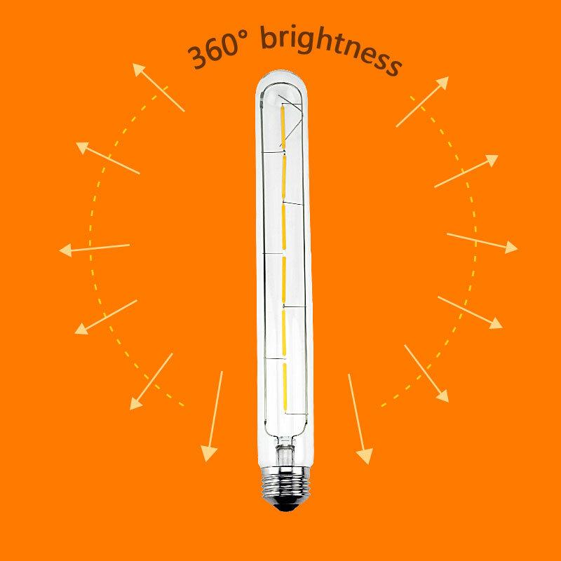 LED ampoule E27 rétro lampes 220V 240V LED Filament lumière E14 boule de verre Bombillas LED ampoule Edison bougie lumière 2W 4W 6W 8W