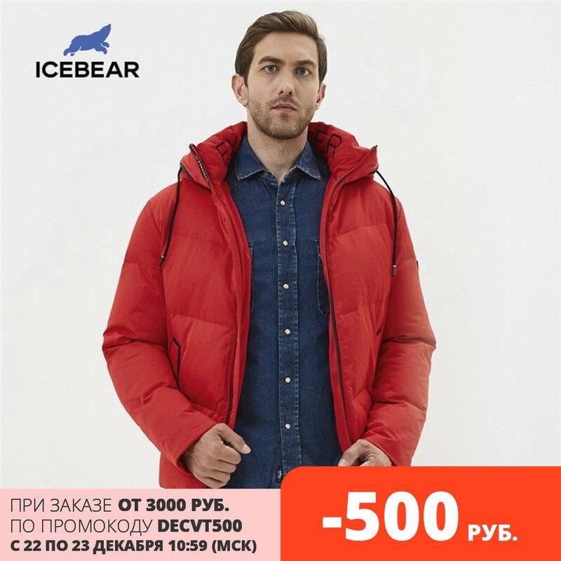 Icebear 2019 Nueva Chaqueta De Invierno Gruesa Y Cálida Para Hombres Elegante Abrigo Casual Para Hombres Ropa De Marca Mwd19617i Bestdealplus