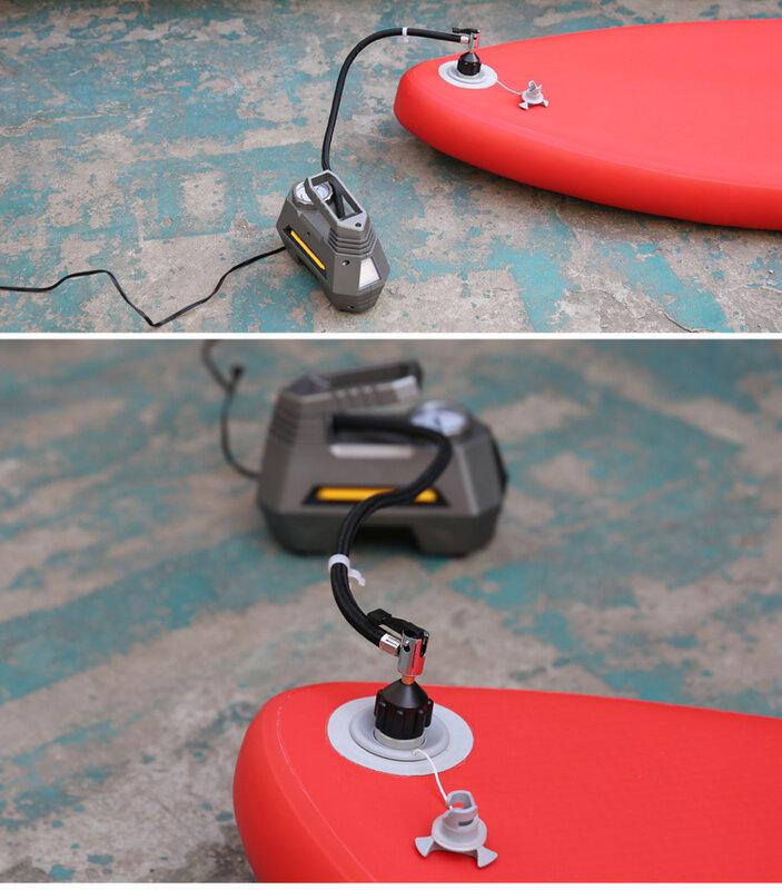 Sup Pump Air Adapter Valve Paddle Board Kayak Inflatable Rowing Bed Adaptor N2N5