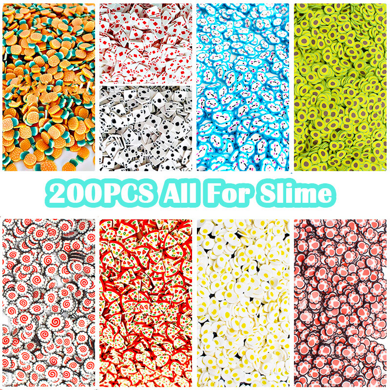 Slime charms Crystal shell Filler Charms Slime Additives for To Release Toy Pearl Clay for Slime 3