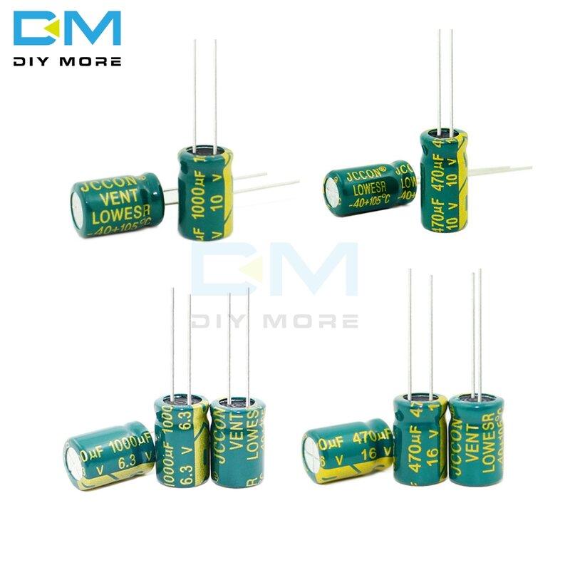16V 470uf 4 pcs Nichicon KA Capacitors