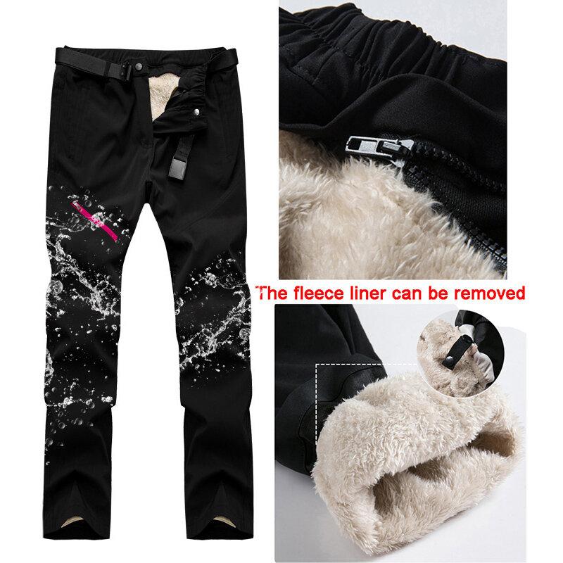 Traje De Esqui A Prueba De Viento Para Mujer Pantalones Termicos Impermeables Para Nieve Conjuntos De Chaqueta De Snowboard Disfraces Deportivos Para Nieve Al Aire Libre Novedad De Invierno Esqui