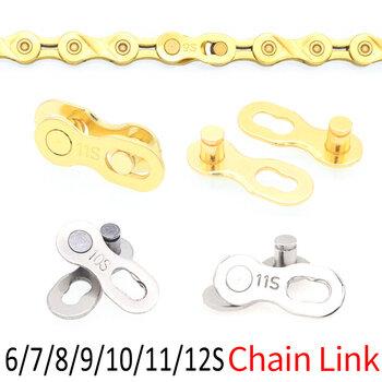 SRAM 12 Speeds Bicycle Chain Lock Connector  Cycling Magic Buckle Padlocks Bike
