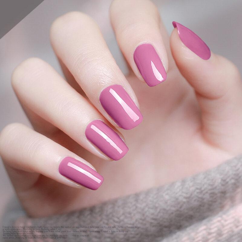 Modelones Salon Nail Art Uv Nail Gel Polish French Manicure Kit