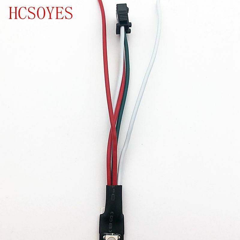 تيار مستمر 5 فولت WS2812B قطاع 30/60leds/م 2811ic المدمج في فردي عنونة الذكية RGB led قطاع P30/IP65/IP67 5 متر/لفة