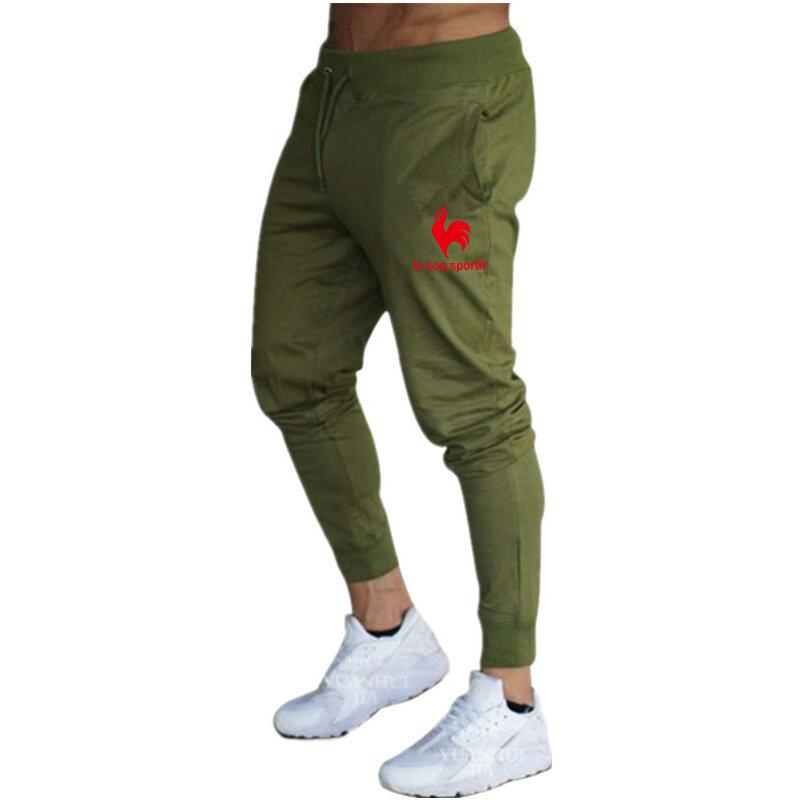 2020 Pantalones De Chandal Para Hombre Pantalones Casuales Para Gimnasio Pantalones De Entrenamiento Para Fitness Pantalones Deportivos Ajustados De Algodon Para Primavera Y Otono Para Hombre Bestdealplus