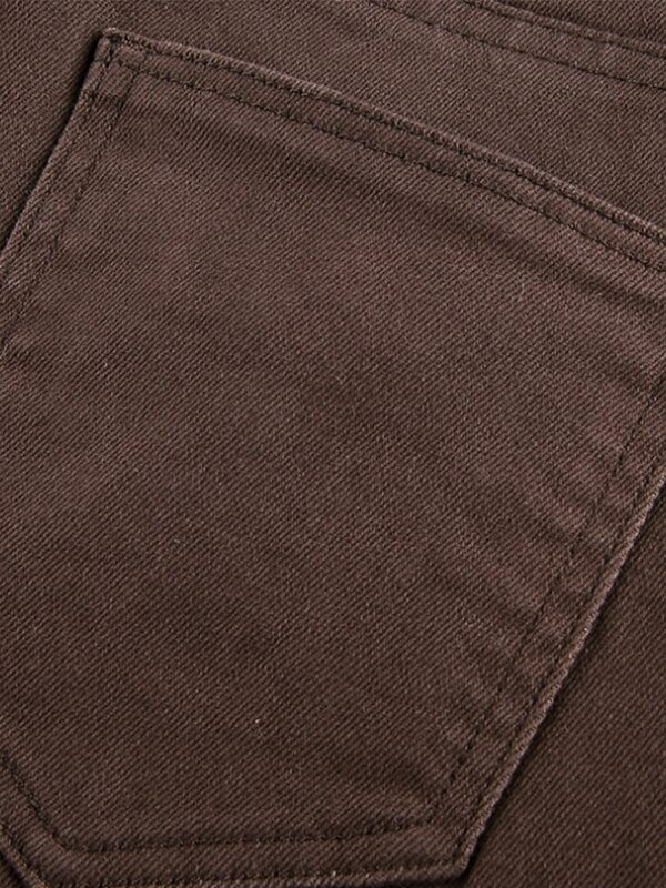 Pantalones Vaqueros Clasicos Y2k Para Mujer Ropa De Calle Elastica Harajuku Acampanados De Algodon A La Moda Bestdealplus