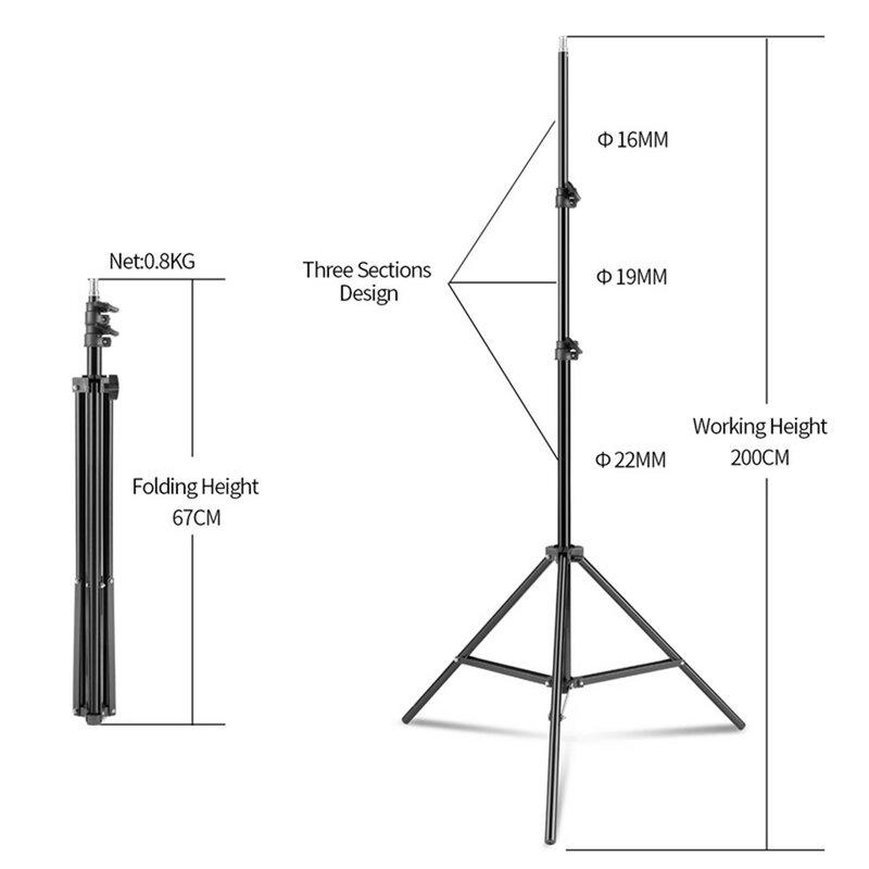 Foto Video Fotografie Studio Reflektor Disc Holder Clamp Für Beleuchtung Stehen