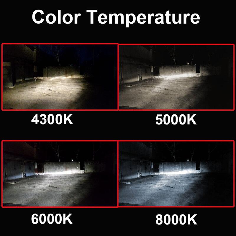 H11 H8 H9 LED Headlight Kit High or Low Beam Fog Bulbs 6000K 3000K 8000K Canbus