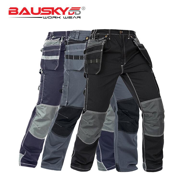 Bauskydd Pantalones De Trabajo Para Hombre Ropa De Seguridad Con Bolsillos Multifuncion Para Trabajo Otono Suministros Para Seguridad En El Trabajo