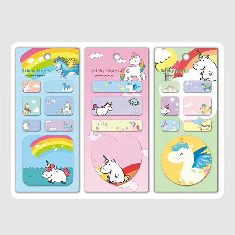 1PC Kawaii Stationery Memo Pad Bookmark Creative Sweet Sticky Note Paper Sticker