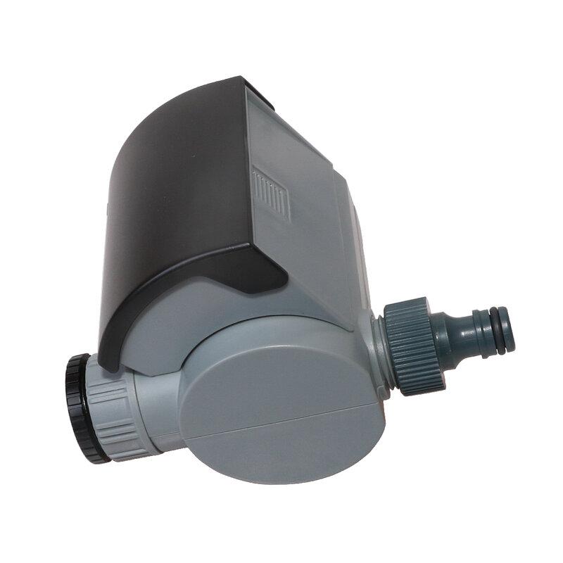 Válvula Solenoide Digital para jardín y Casa, temporizador de agua automático, sistema de controlador de riego para jardín con pantalla LCD #21002