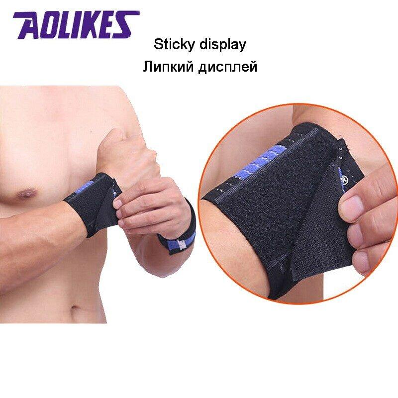 AOLIKES-bracelet élastique pour poignet pour hommes et femmes, 1 pièce