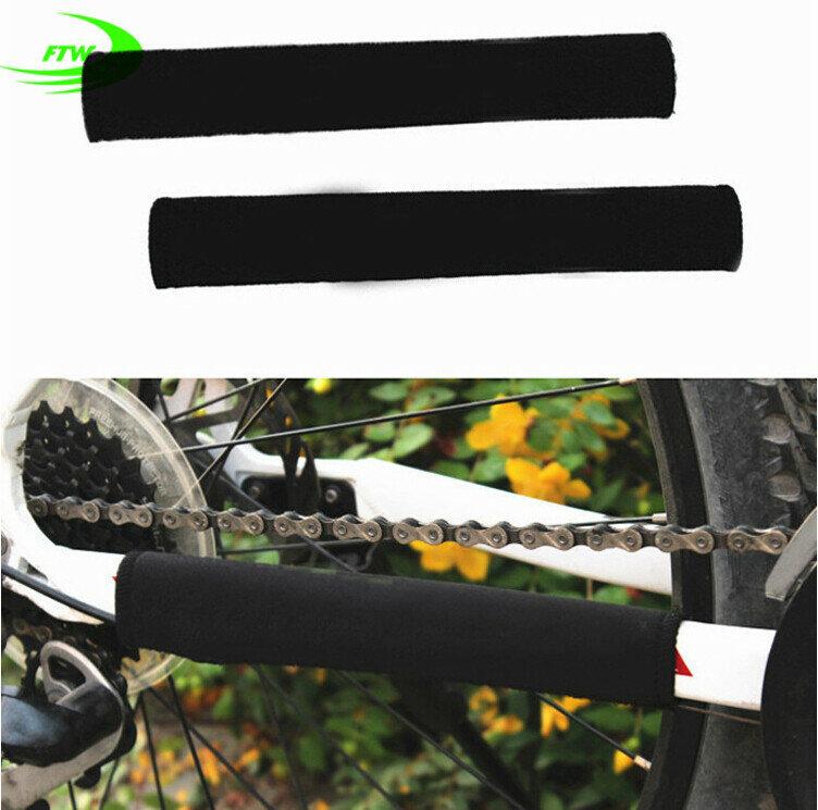 إطار حماية للدراجة من العلامة التجارية متين مناسب لركوب الدراجات ، إطار واقي أسود SM3004