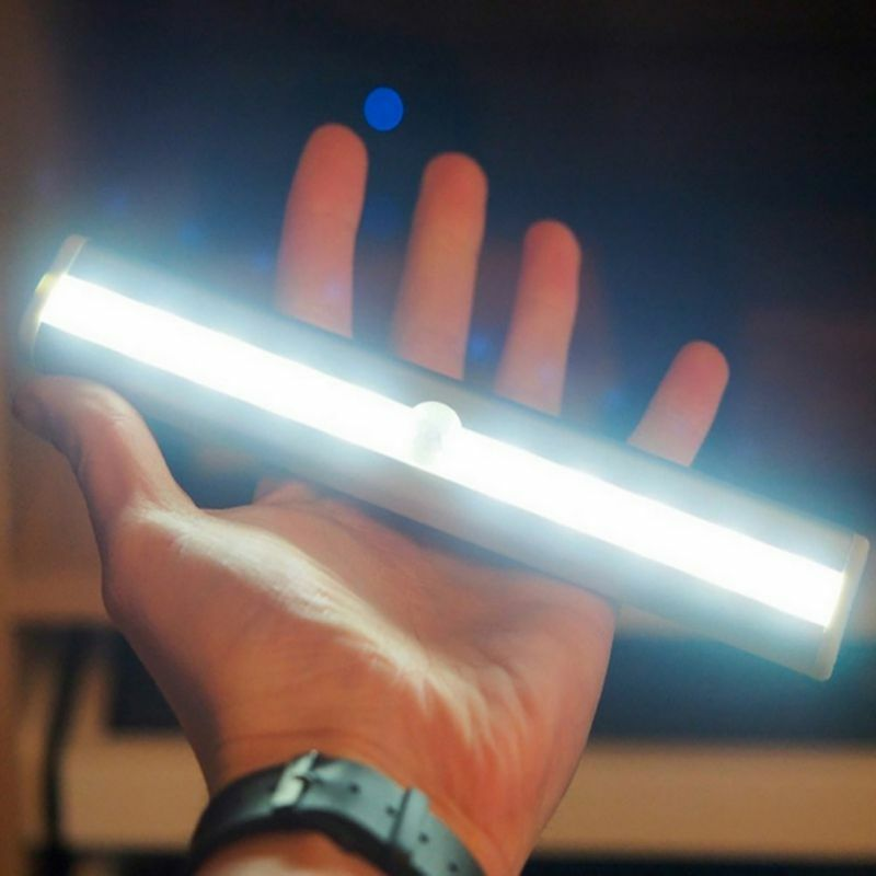 L0406 10 LED IR 적외선 모션 옷장 서랍 감지 램프 무선 센서 옷장 캐비닛 라이트 스위치 편리한 야간 조명