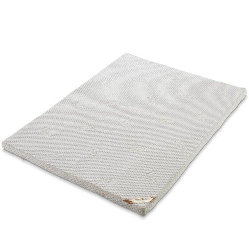 NOYOKE Matratze Tatami Schlafzimmer Möbel Bett Topper Speicher Schaum Faltbare Schlaf Matratze 5cm Dicke für 1,5 M Bett
