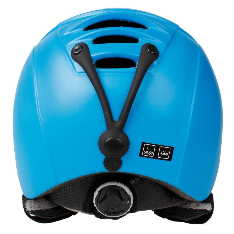 COPOZZ-casco de esquí moldeado integralmente, para hombre y mujer, para Snowboard, Skateboard, esquí, moto de nieve