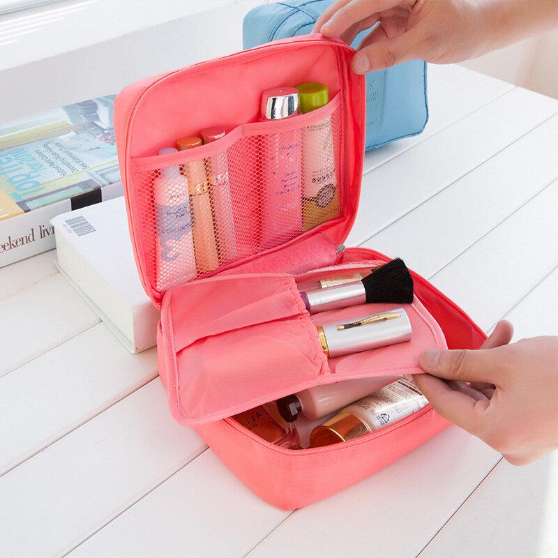 Accessoires de voyage, esthéticienne de voyage, pour femmes, soutien-gorge de lavage, sous-vêtements sac à cosmétiques étui de maquillage
