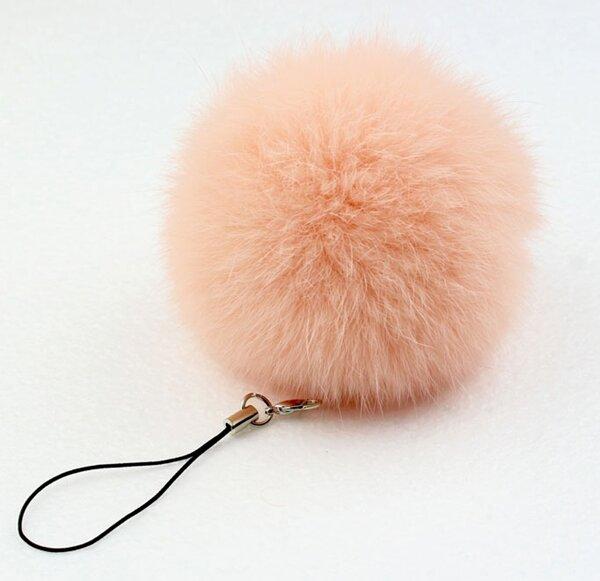 Portachiavi Pom portachiavi palla di pelliccia di coniglio reale portachiavi portachiavi portachiavi Llaveros per borsa Charm Navidad Regalos