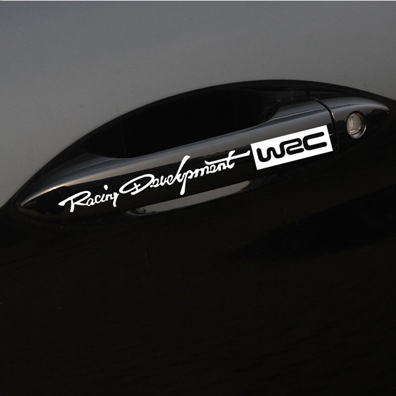 Decal Sticker any Bodywork! 6 x Car Styling `WRC` for Wing Mirrors and Doors