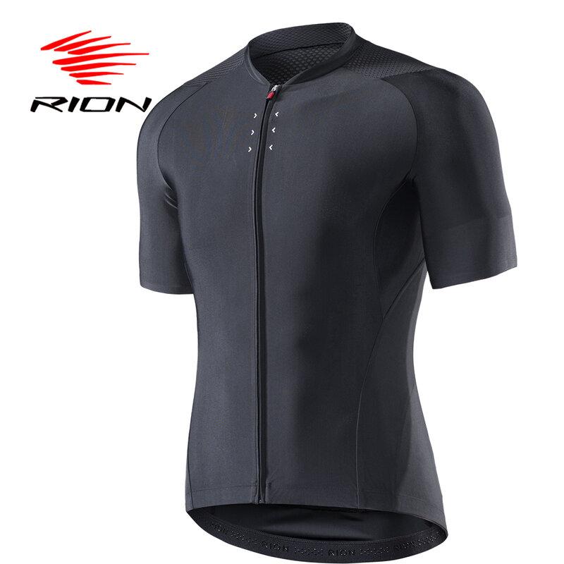 JPOJPO Racing Cycling Jersey Men Mens Bike Tops S-3XL Reflective Zipper 4-Pockets Lycra+Polyester
