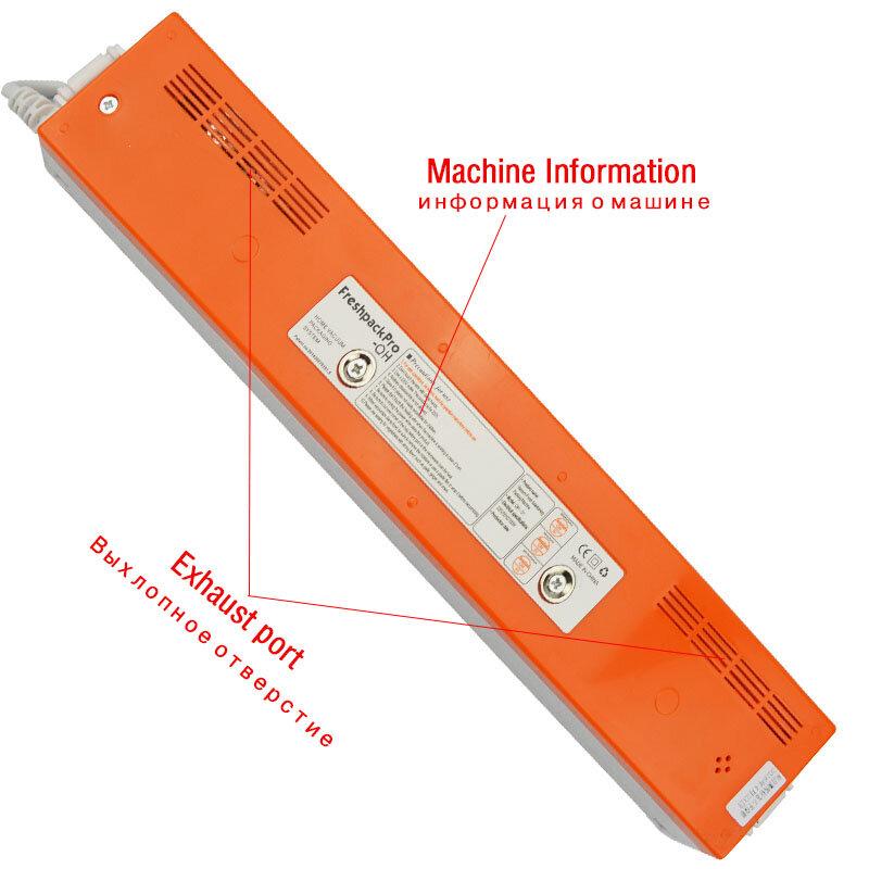 Atwfs 진공 음식 씰러 220 v/110 v 포장 씰링 기계 주방 진공 실러 포장기 15pcs 진공 가방 식품 보호기