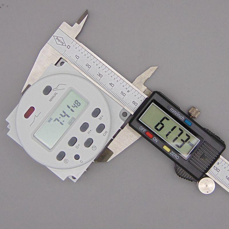 Oktimer cn101a ac 220 v 230 v 240 v 디지털 lcd 전원 타이머 프로그래밍 가능한 시간 스위치 릴레이 16a 타이머 cn101 타이머
