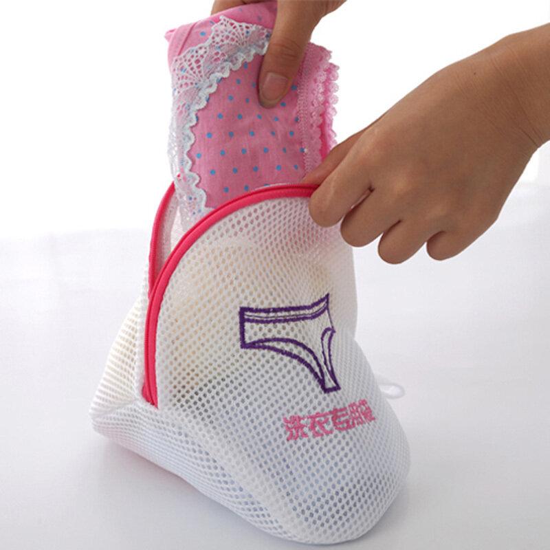 Zipped Wash Bags Laundry Washing Mesh Net Lingerie Underwear Bra Clothes Socks