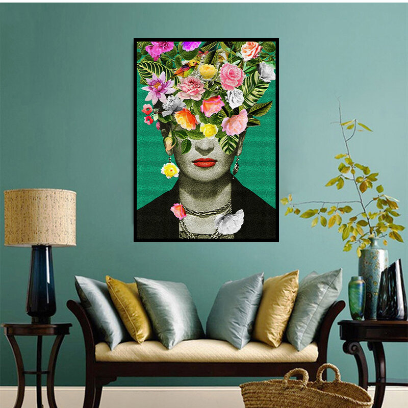 Art Print Poster Canvas FRIDA KAHLO IMAGE PICTURE