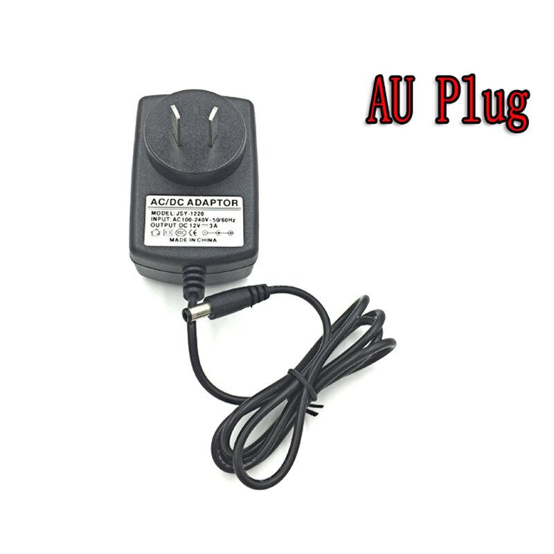 Adaptateur de transformateur de chargeur d'alimentation en alimentation LED AC110V 220 V à DC12V 2A chargeur de puissance pour la lumière de bande LED
