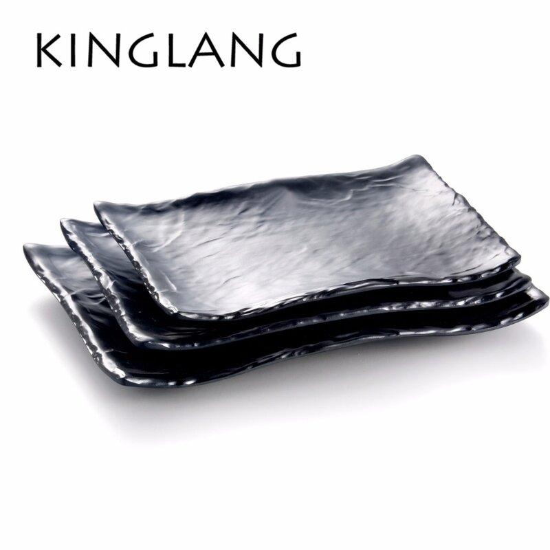 Kinglang 1 Pc New Plastic Melamine Pan and Bread Egg Plate