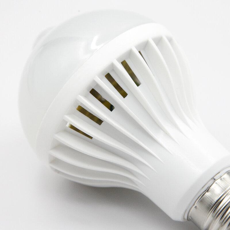 E27 LED 램프 전구 PIR 모션 센서 빛 220V 5W 7W 9W 자동 스마트 PIR 적외선 바디 램프 모션 센서 조명