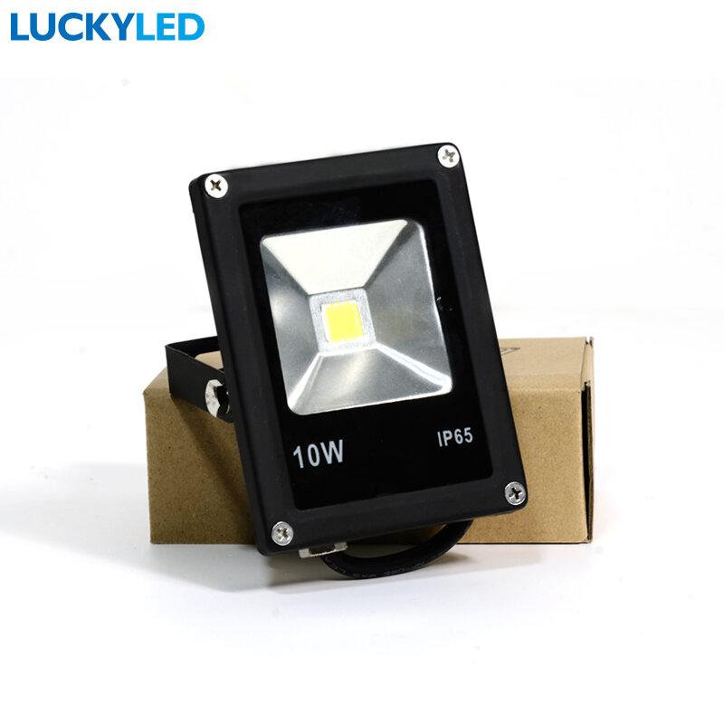 LUCKYLED ha condotto la luce di inondazione 10W 20W 30W 50W ca 220V impermeabile IP65 proiettore faretto LED riflettore giardino illuminazione esterna lampada
