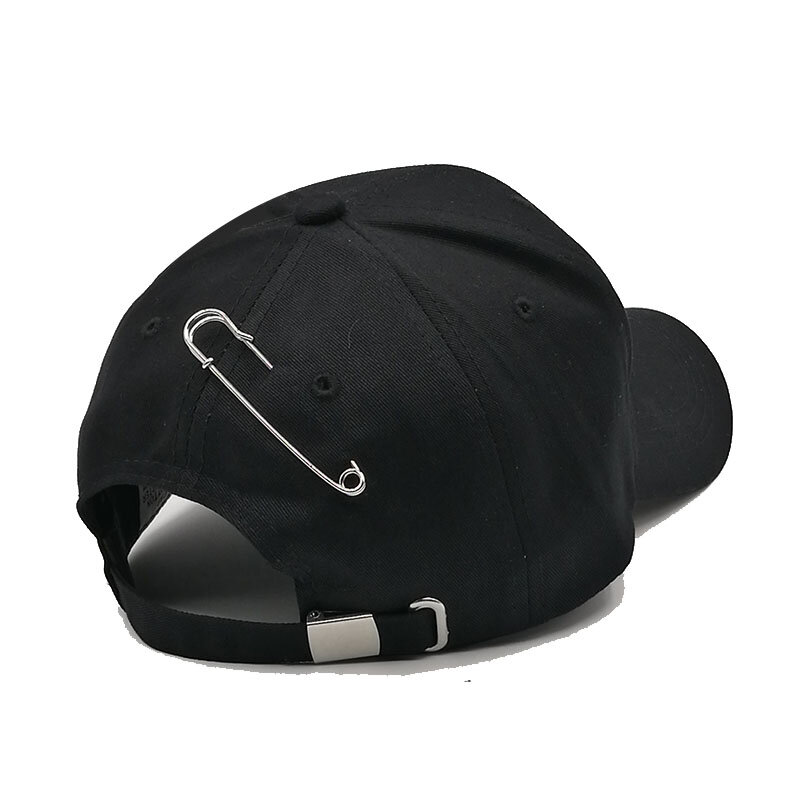 Kioninai The New Baseball Cap Women with 3 Rings Caps Fashion Hip Hop Cap Sun Hat Korean Version Solid Color