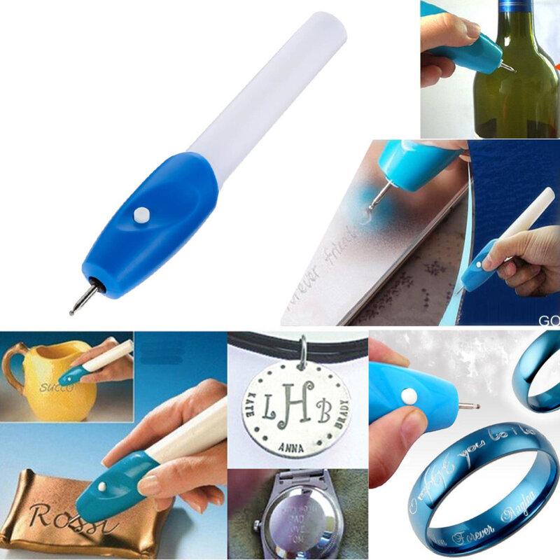 높은 품질 유용한 미니 전기 조각 조각사 펜 기계 DIY 쥬얼리 금속 유리 조각사 펜 키트에 대 한 도구를 새겨 져