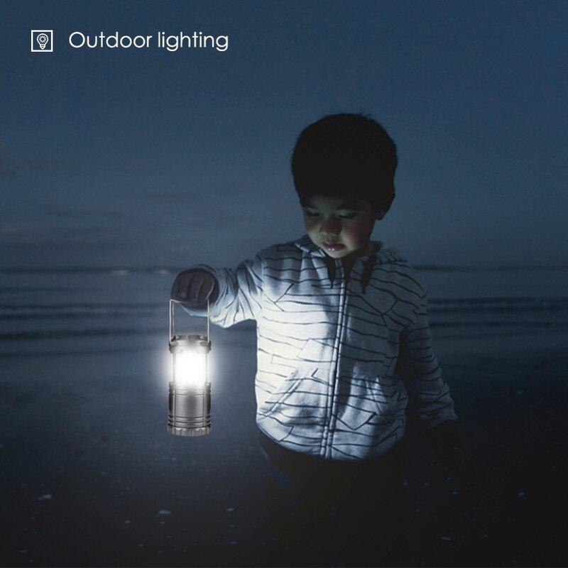 Faltbare 30 LED Leichte, Tragbare Camping Laterne Zelt Hängen Taschenlampe Licht Notfälle Linternas Für Wandern Camping