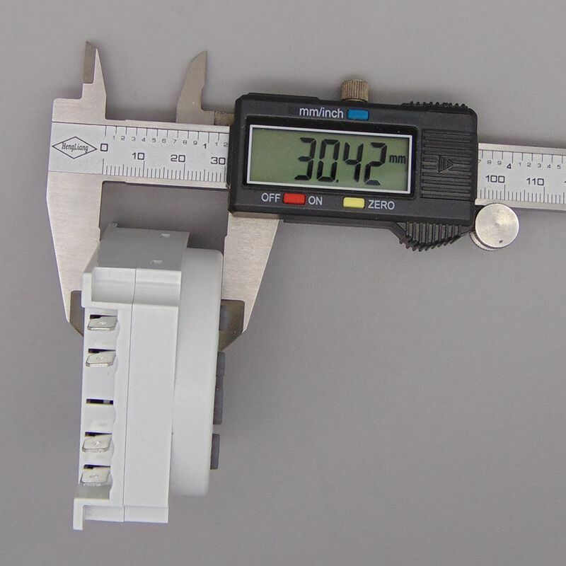 OKtimer-Temporizador Digital LCD programable, relé de interruptor de tiempo, 16A, CN101A, AC 220V 230V 240V
