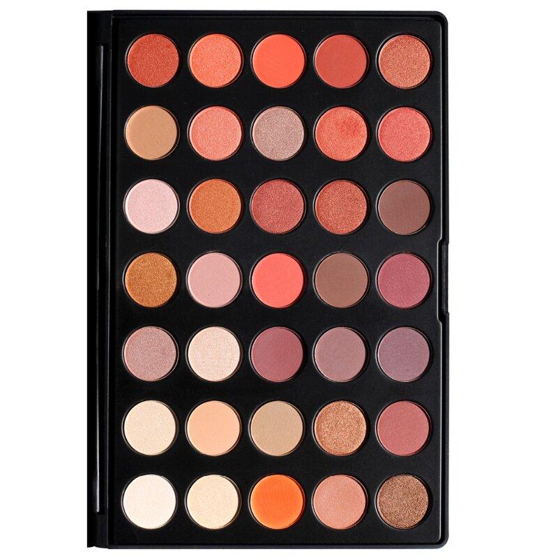 DE'LANCI más 35 colores brillo mate ojo sombra d'ojos maquillaje profesional paleta de belleza hacer conjunto