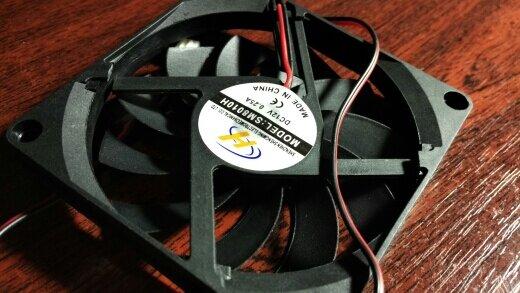 YOC حار 80 مللي متر 2 دبوس موصل مروحة تبريد ل حالة الكمبيوتر وحدة المعالجة المركزية برودة المبرد