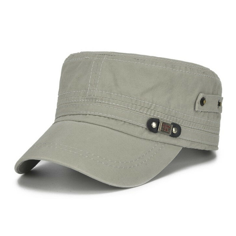Women Sport Military Hat Cap Summer Holiday Army BASEBALL Size Adjustable Cotton