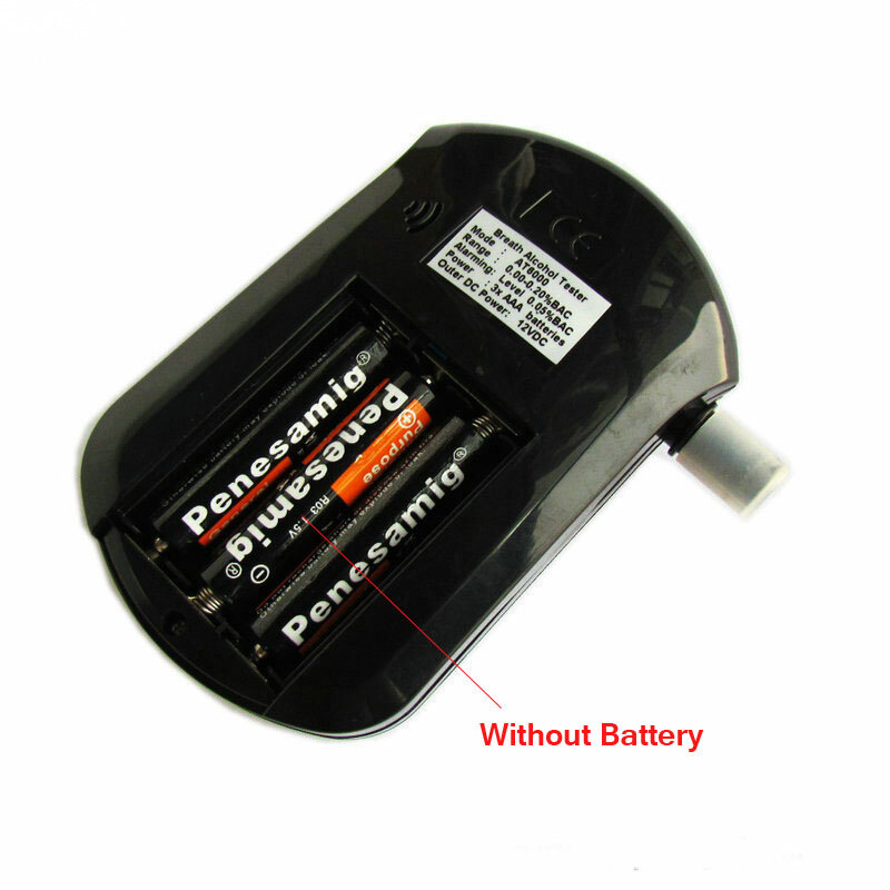Analizzatore Alcohol tester etilometro digital breath colpo professionale AT6000 alcol test portatile contenuto BAC