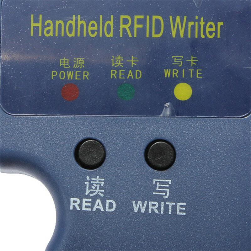RFID 핸드 헬드 125KHz EM4100 ID 카드 복사기 작가 복사기 프로그래머 리더 + 6 키 + 6pcs 재기록 ID Keyfobs 태그 카드