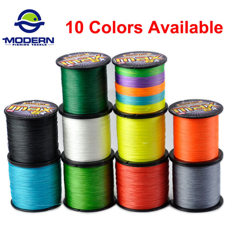 Fishing Line 8 Strands 8 Braided 500M Strong Japan Line Multifilament PE Line