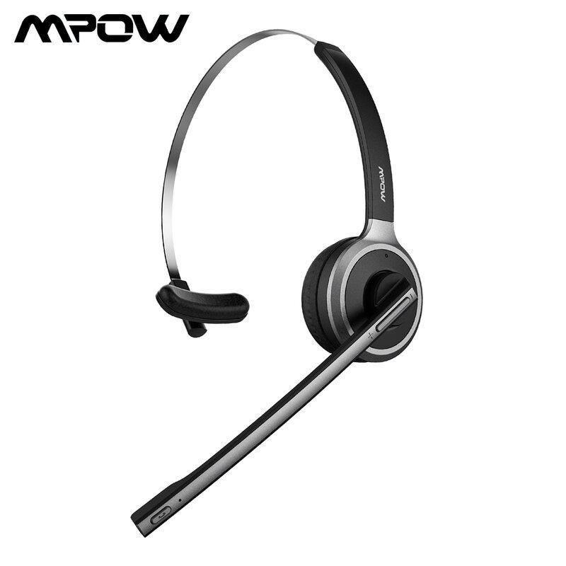 Mpow Phantom Wireless Bluetooth Headphone Noise Cancelling Headset