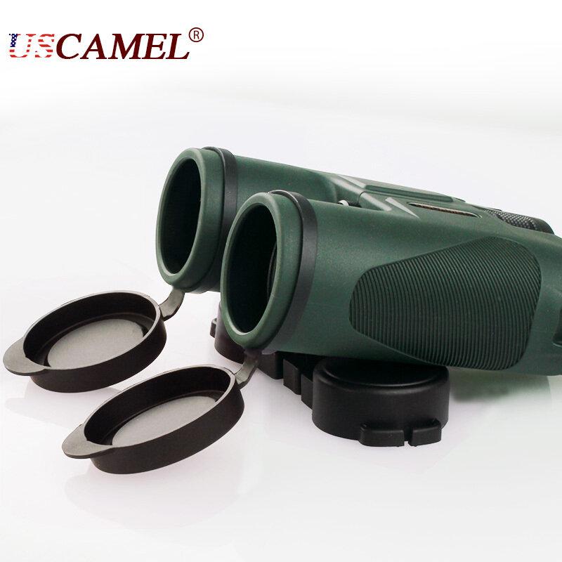 Uscamel 군용 hd 10x42 쌍안경 전문 사냥 망원경 줌 고품질 비전 없음 적외선 접안 렌즈 육군 녹색
