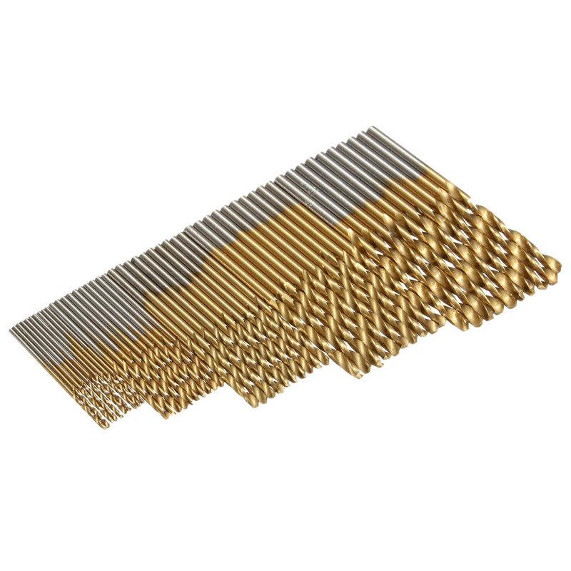 Heißer Verkauf 50 teile/satz Twist Bohrer Für Metall Set 1/1. 5/2/2,5/3 mt HSS High Speed Stahl Bohren Holzbearbeitung Werkzeug Hohe Qualität
